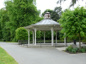 Bandstand, War Memorial Park, Basingstoke