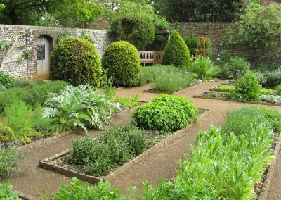 A CORNER OF THE PHYSIC GARDEN IN MAY